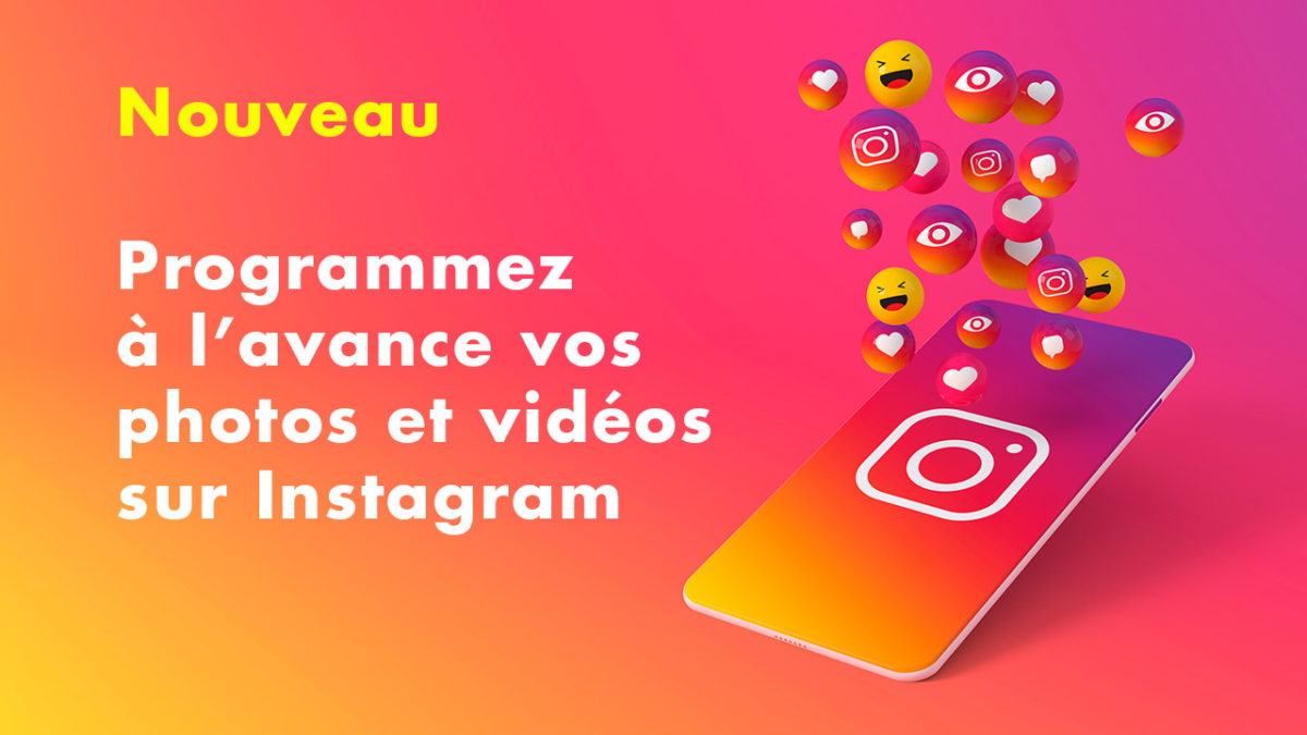 programmer sur Instagram