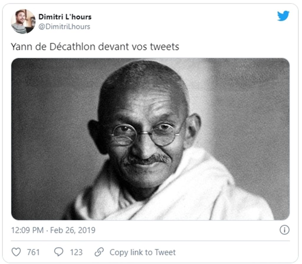 Decathlon brand advocate