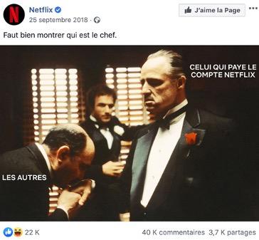 extrait social media Netflix